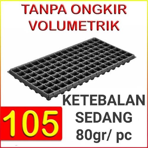 Foto Produk Tray semai pot bibit pembibitan 105 lubang (Ketebalan 80gr) dari Biji Benih