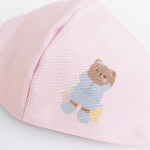 Foto Produk Chocochips - Lazy Lola in Pajamas Mask [Pink]/Masker Kain dari Chocochips Official Shop