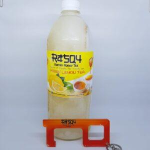Foto Produk Minuman Korea Rasqy Korean Honey Lemon Tea 1L Plus Cofinger dari Raefal-Shop