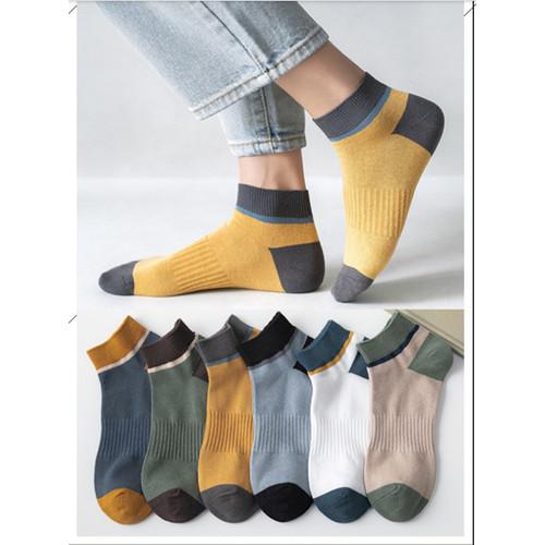 Foto Produk KK41 Kaos Kaki Pria Cool and Comfort Men Socks - green dari Dneo Store