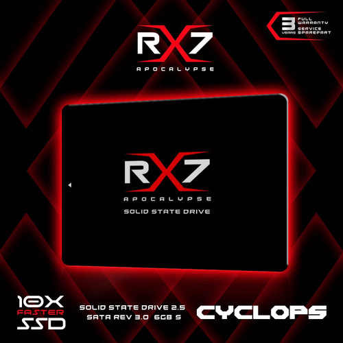 Foto Produk SSD RX7 120GB GARANSI RESMI 3THN dari INDOLEGEND COMPUTER