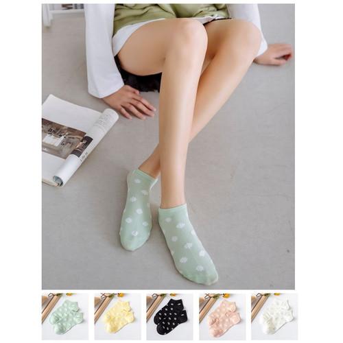 Foto Produk KK37 Kaos Kaki Wanita Summer Daisy Flower Women Socks dari EnnWen Online Store