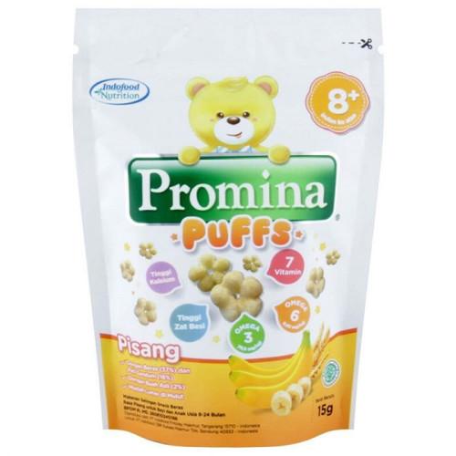 Foto Produk Promina Puffs Banana 15gr (8bulan+) dari Yen's Baby & Kid Official Shop