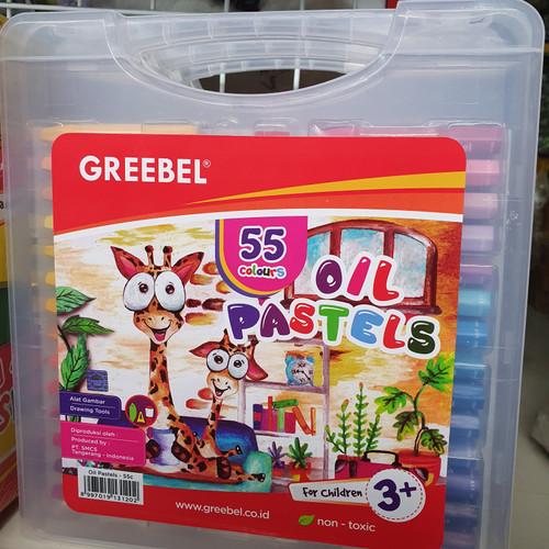 Foto Produk Crayon Greebel 55 Warna dari Sinar Timur Jatinegara