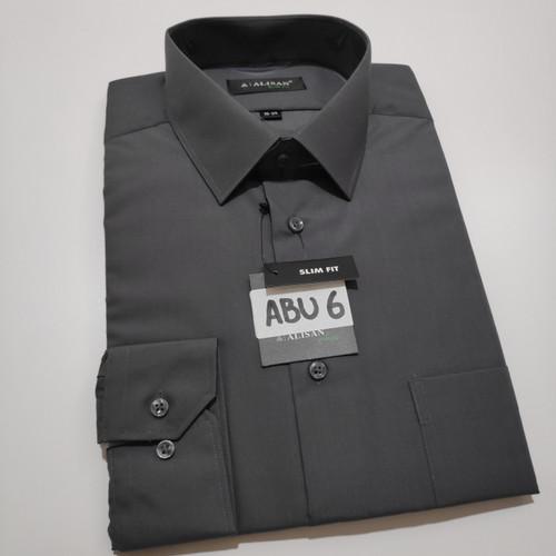 Foto Produk kemeja ALISAN panjang warna ABU6 SLIM FIT - M dari harden