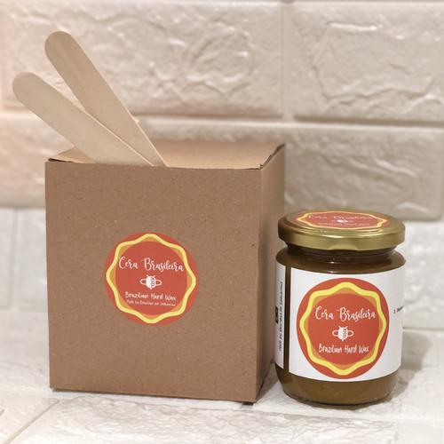 Foto Produk Natural Brazilian Hard Wax - Stripless. 220g - No Sugar (100% Honey). dari Sarkara Shop