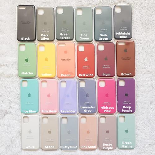 Foto Produk Full Cover Silicone Case IPHONE 6 6S 7 8 SE 2020 X XS XR 11 PRO MAX - 6 6s, Tulis diCatatan dari Accarea Store JKT