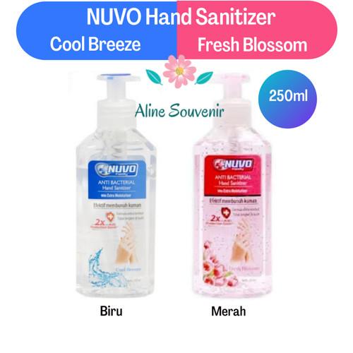 Foto Produk nuvo hand sanitizer 250ml pump - Biru dari Aline Souvenir