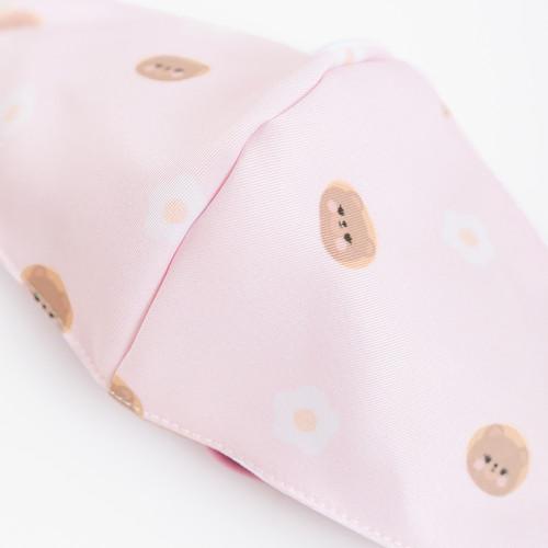Foto Produk Chocochips - Lola the Bear Pattern Mask in Pink/Masker Kain dari Chocochips Official Shop