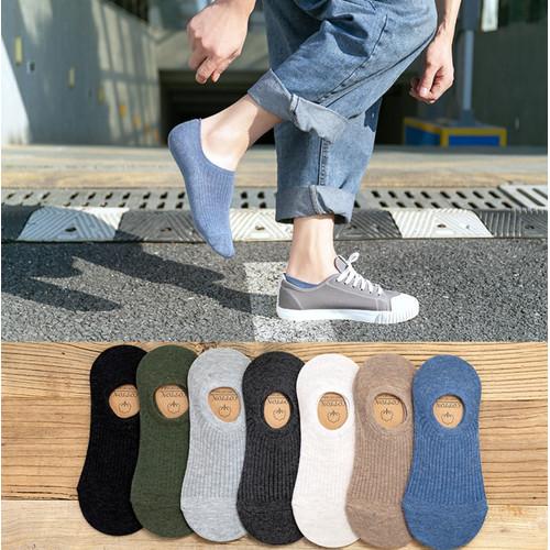 Foto Produk KK38 Koas Kaki Pria Wanita Japanese Cotton Angkle Socks dari EnnWen Online Store