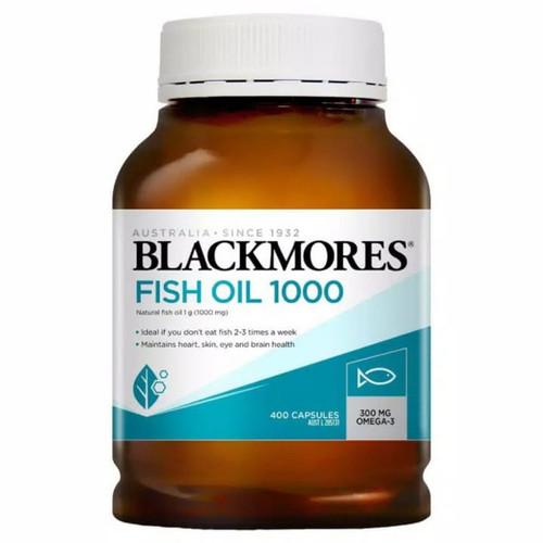 Foto Produk Blackmores Fish Oil 1000 minyak ikan 400 Kapsul dari Jaya Vitamin