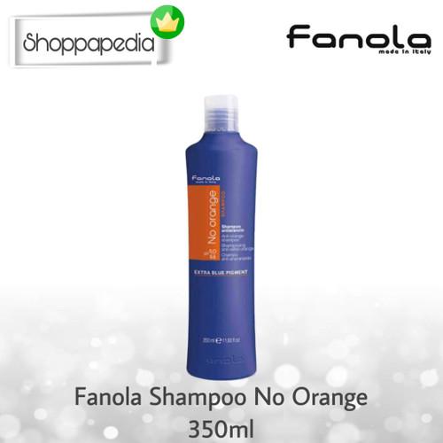 Foto Produk FANOLA NO ORANGE 350 ml SILVER SHAMPO ORIGINAL ITALY TERMURAH! GROSIR dari Shoppapedia