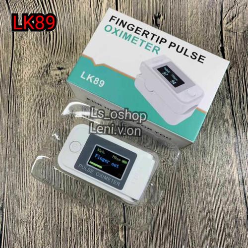 Foto Produk Pulse Oximeter LK89 Oximetry LCD Finger / Oxymeter LK 89 Putih White dari Ls_oshop