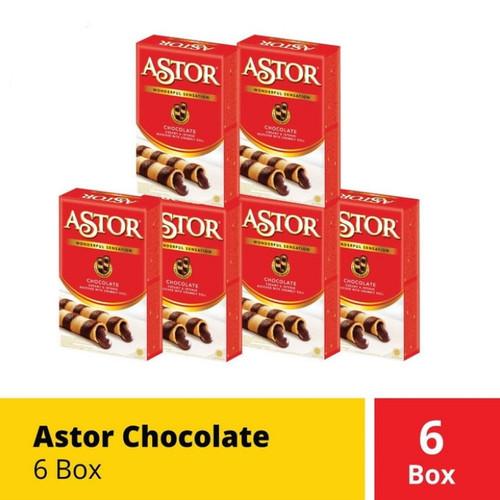 Foto Produk Astor Coklat Chocolate 40 40gr 40g 6 Box dari Logan Market