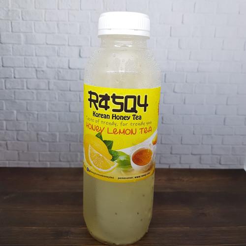 Foto Produk Minuman Korea Kekinian Rasqy Korean Honey Tea - 500 ml, Honey Lemon dari Raefal-Shop