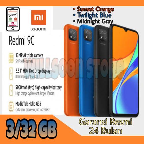 Foto Produk Xiaomi Redmi 9C Garansi Resmi 3/32 GB & 4/64 GB - Sunrise Orange, 4 64 GB dari Willsoon Store