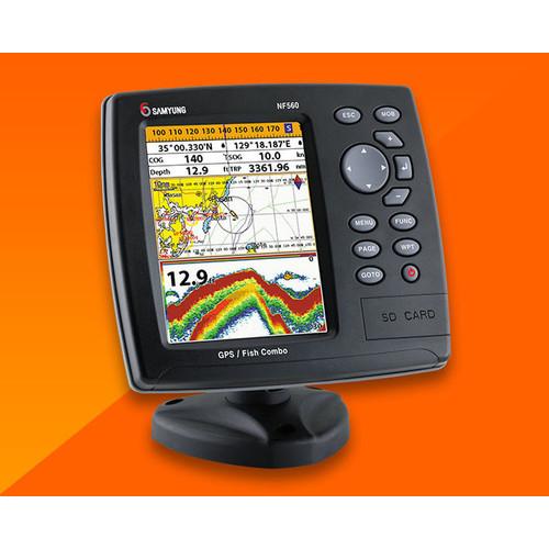 Foto Produk Samyung NF560 GPS Chartplotter Fishfinder Ori Baru Sounder NF-560 dari Hanika Communication