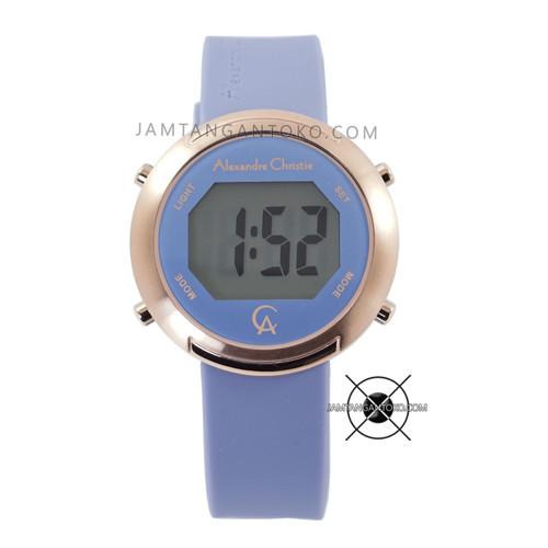 Foto Produk Jam Tangan Alexandre Christie AC 9337 LH Digital Blue Rubber Original dari Jam Tangan Toko