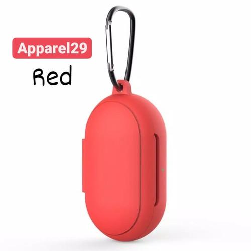 Foto Produk Samsung Galaxy Buds / Buds plus Case Pouch Casing Silicone - Merah dari apparel29