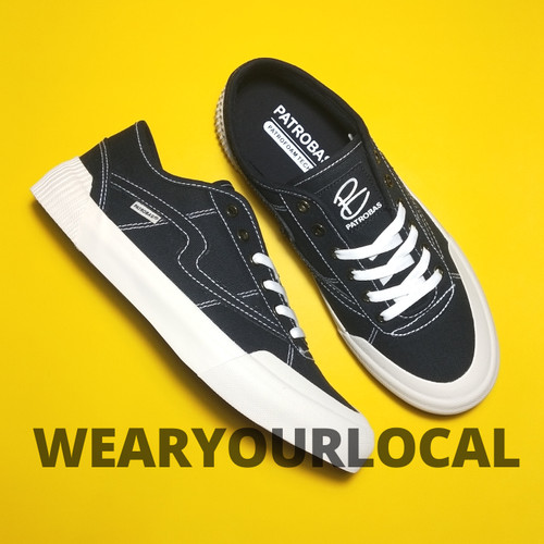 Foto Produk Sepatu Patrobas Equip Low Black White - 42 dari WYLSTORE