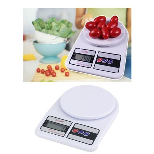 Foto Produk Timbangan digital gram Kitchen scale Timbangan kue buah SF-400 10KG dari lbagstore