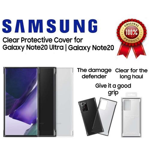Foto Produk Original Samsung Note20 Note 20 ultra Clear Protective Cover - Note20, White dari Toko818 Accessories