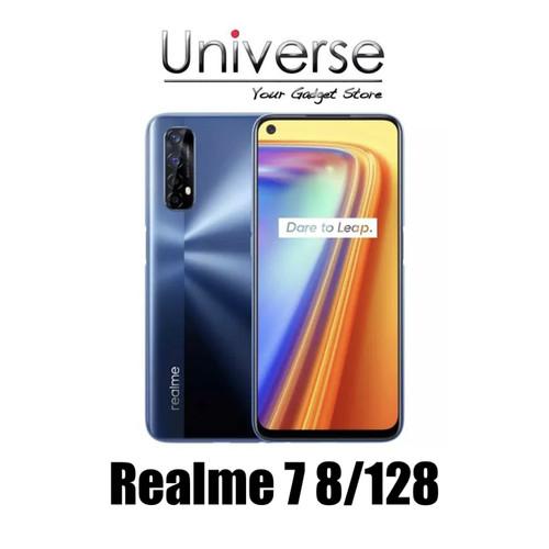Foto Produk Realme 7 8/128 GB - Garansi Resmi Realme - Putih dari Universe Store