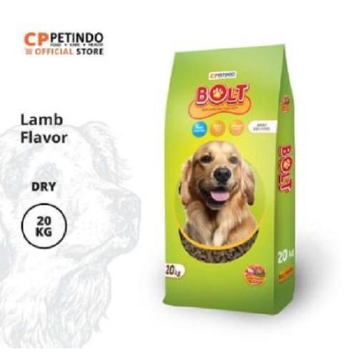 Foto Produk CPPETINDO Bolt Lamb Flavor Dog Food 20 kg dari CPPETINDO