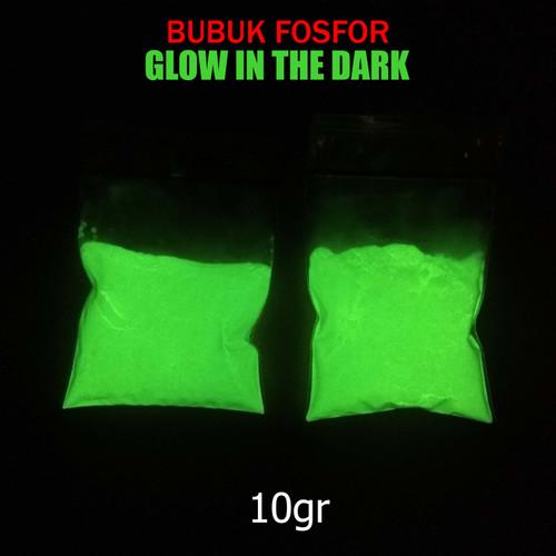 Foto Produk Bubuk Fosfor Glow In The Dark. Isi 10gr dari wind7even