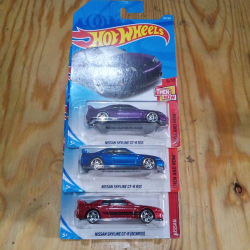 Foto Produk Hotwheels Nissan Skyline GTR R33 - Biru dari OVER TARGET