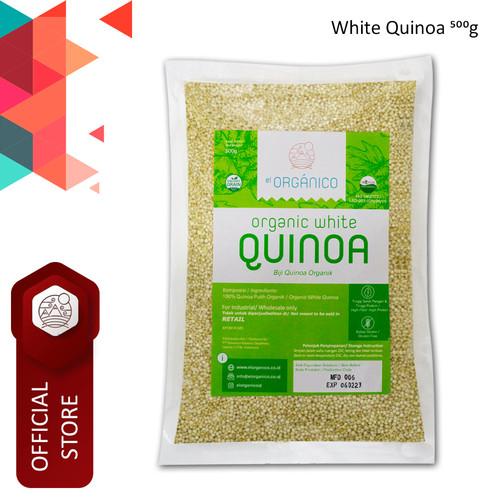 Foto Produk White Quinoa Organic EL Organico 500gr- Single Pack dari ELorganico