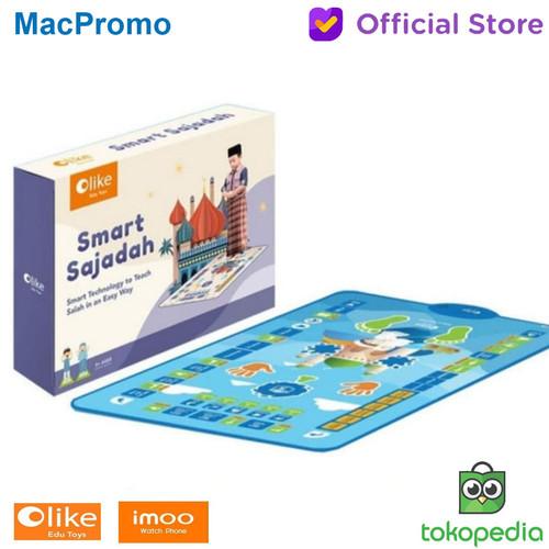 Foto Produk Imoo Olike Smart Sajadah Pintar Panduan Ibadah Anak Resmi - Sky Blue dari Mac Promo