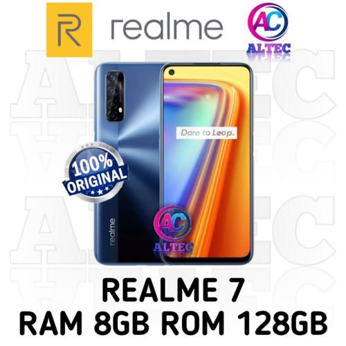 Foto Produk Realme 7 8/128 RAM 8GB ROM 128GB GARANSI RESMI - BLUE dari Altec Cellular