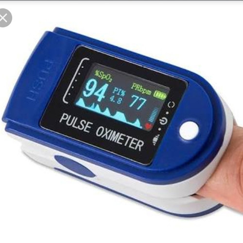 Foto Produk fingertip pulse oximeter sp02 oxymeter alat ukur kadar oksigen dari EJ shoppe