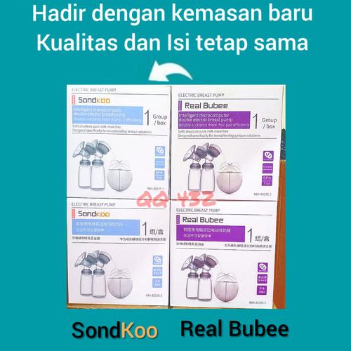 Foto Produk PROMO!!! Real bubee double / Pompa asi elektrik usb dengan botol susu dari QQ 432