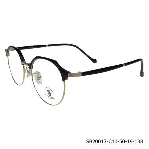 Foto Produk SB POLO CLUB Frame Kacamata Wanita Rounded (20017) Clasic Stylish - Gold dari Optik Internasional Official