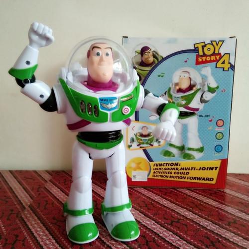 Foto Produk Toy Story 4 Buzz Lightyear walking robot/ Robot Jalan dari StoryOfToys