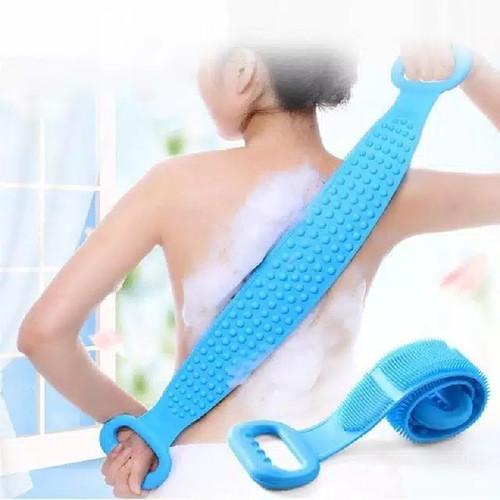 Foto Produk Sikat Punggung Multifungsi Bahan Silikon Lembut Fleksibel untuk mandi dari ong star acc