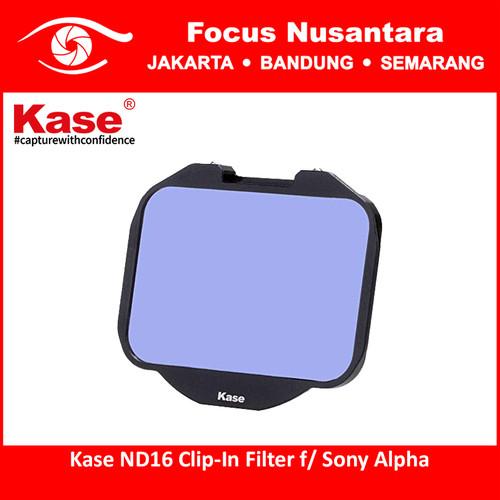 Foto Produk Kase ND16 Clip-In Filter f/ Sony Alpha dari Focus Nusantara