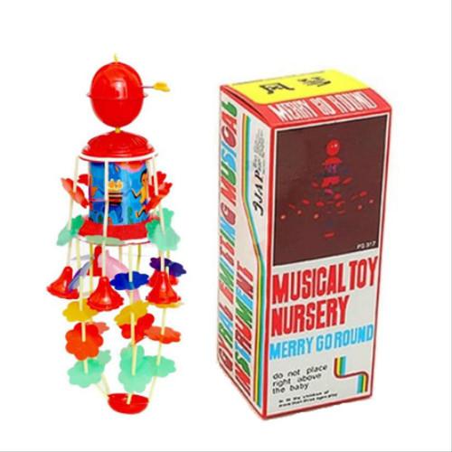 Foto Produk Merry Go Round Musical Toy Nursery Mainan Musik Bayi Gantung Putar dari motherkids