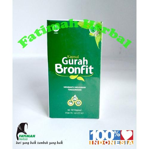 Foto Produk Kapsul gurah Naturafit- Gurah Bronfit - 50 kapsul dari Fatimah Herbal