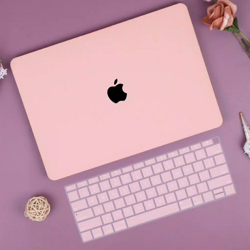 Foto Produk macbook case casing PASTEL PINK color pro retina 13 15 air 11 13 inch dari MAC COVER