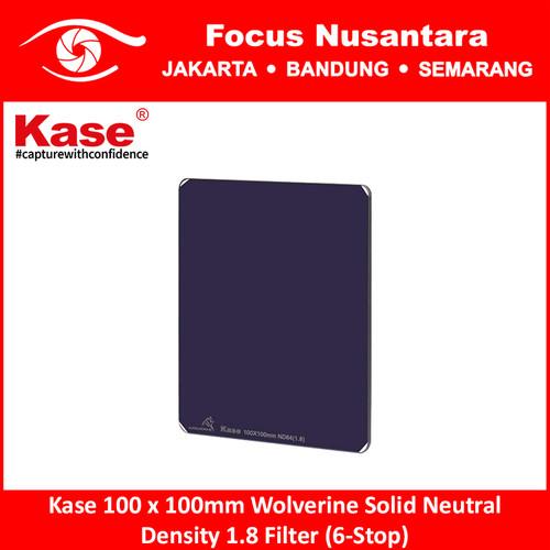 Foto Produk Kase 100 x 100mm Wolverine Solid Neutral Density 1.8 Filter (6-Stop) dari Focus Nusantara