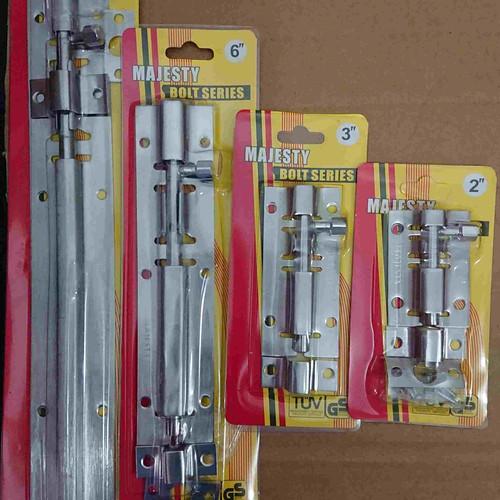 """Foto Produk Grendel Pintu Stainless 12"""" inch/Selot Pintu/Grendel Panjang 12 inchi dari Midlands"""