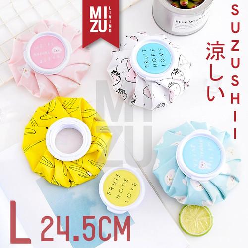 Foto Produk MIZU SUZUSHII L 25cm Cold Compress Ice Bag Hot Pack Kantong Kompres Es - PINK RABBIT dari MIZU Living