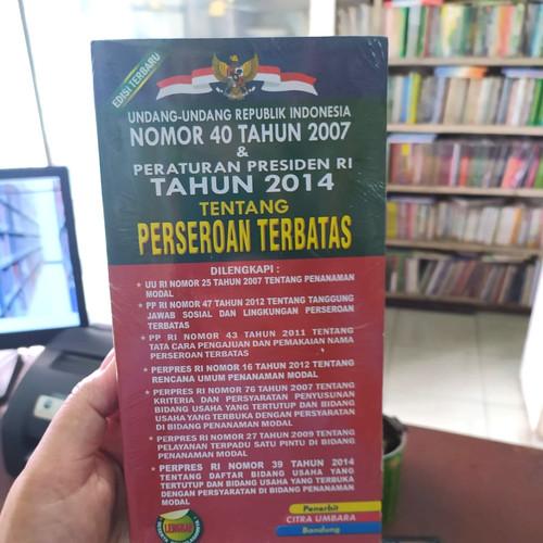 Foto Produk BUKU UNDANG-UNDANG PERSEROAN TERBATAS - UU RI NOMOR 40 TAHUN 2007 dari Amanahbook