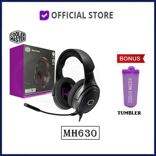 Foto Produk Cooler Master MH630 Gaming Headset MH 630 Headphone - Free Tumbler dari DUNIA COMPUTER & SERVICE