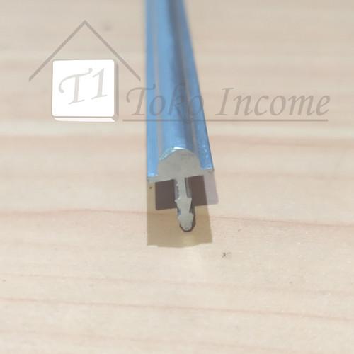 Foto Produk List Koper / Rel Sliding Timbul untuk Roda Coak / Geser Lemari Jendela dari Toko Income