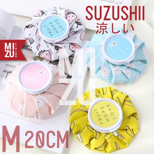 Foto Produk MIZU SUZUSHII M 20cm Cold Compress Ice Bag Hot Pack Kantong Kompres Es - YELLOW BANANA dari MIZU Living