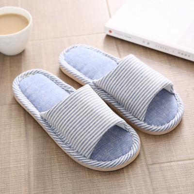 Foto Produk Sandal rumah empuk nyaman elegan modis Sandal kamar indoor - Biru, S dari TEC houseware
